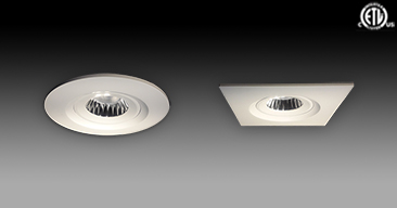 NEW ETL Approved LED QL-CL Gimbal Downlights With Junction Boxes