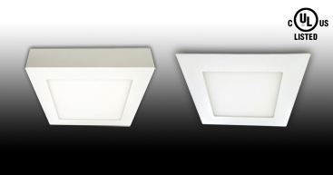 NEW UL Listed Square Panel Light Collection