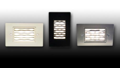 Fl Wave Led Step Light From Futura Lighting